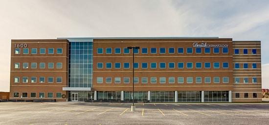 derick dermatology building, elgin location