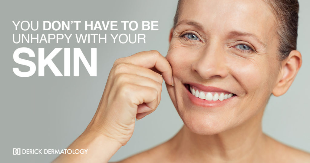 You Don't Have to be Unhappy with Your Skin