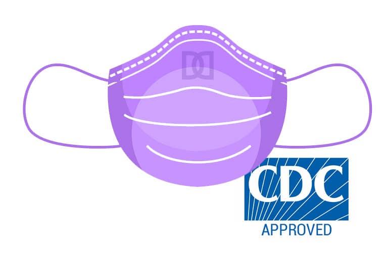 CDC Mask Icon
